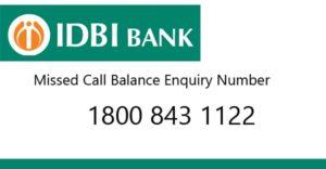 how to check IDBI BANK account balance