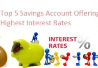 top 5 banks ofering highest interest rates