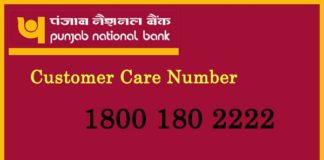 Punjab National Bank Customer Care Number
