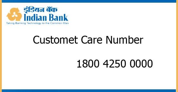 Indian Bank Customer Care Number - Ask Bank Blog