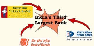 Dena bank, Vijaya Bank and Bank of Baroda Merger