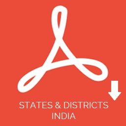 List of Districts and States in India (Excel & PDF Download)