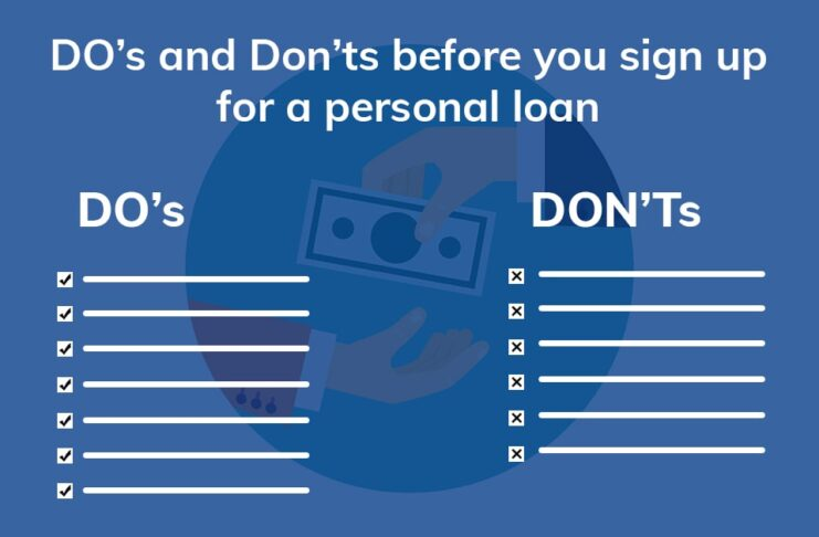 Personal loan do and donts