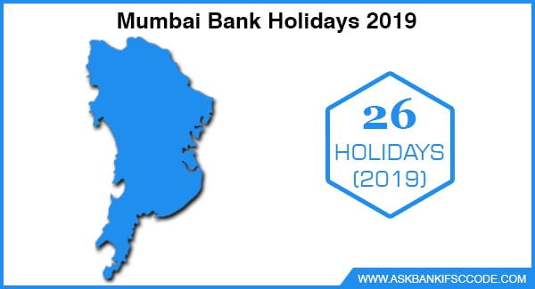 Mumbai Bank Holidays 2019