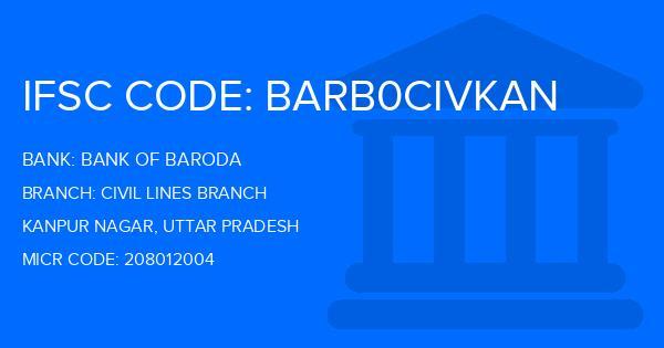 ifsc code of bank of baroda sarvodaya nagar kanpur