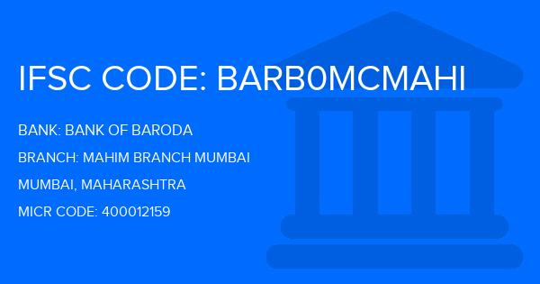 bank of baroda mumbai branch timings