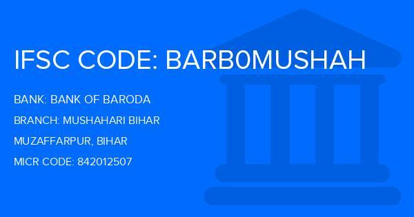 ifsc code of bank of baroda arrah bihar