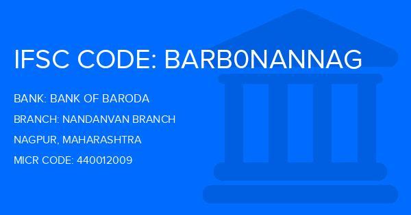 bank of baroda ifsc code manewada nagpur