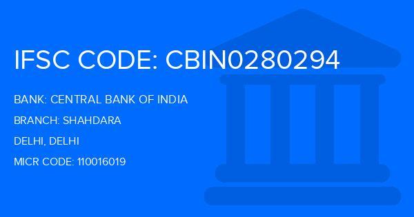 bank of india shahdara branch ifsc code