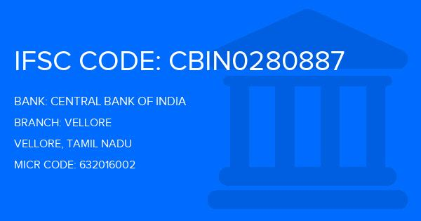 state bank of india vellore main branch ifsc code