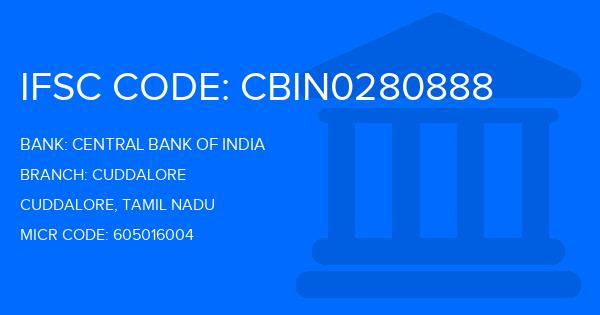 central bank of india nallur branch cuddalore district ifsc code