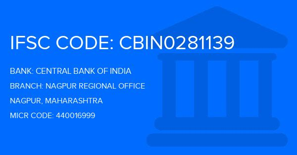 central bank of india ifsc code nagpur