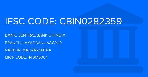 central bank of india lakadganj nagpur ifsc code