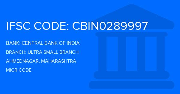 central bank of india ahmednagar branch ifsc code