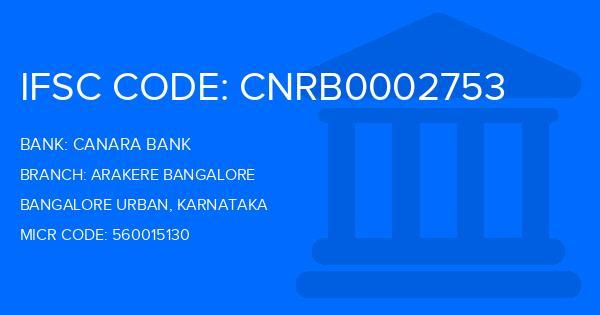 canara bank sr nagar branch ifsc code bangalore
