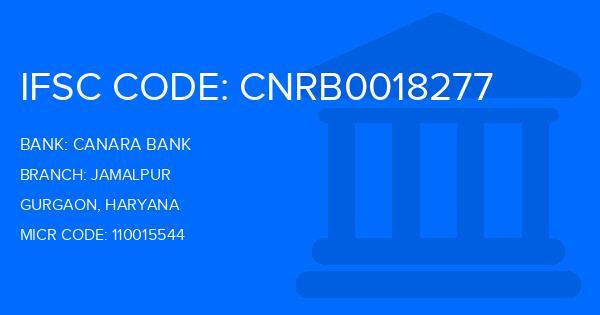 Canara Bank Jamalpur Branch IFSC Code