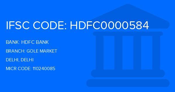 hdfc bank sda market delhi address