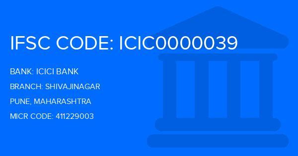 Icici Bank Shivajinagar Branch IFSC Code