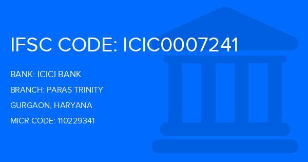 icici bank hero honda branch gurgaon ifsc code