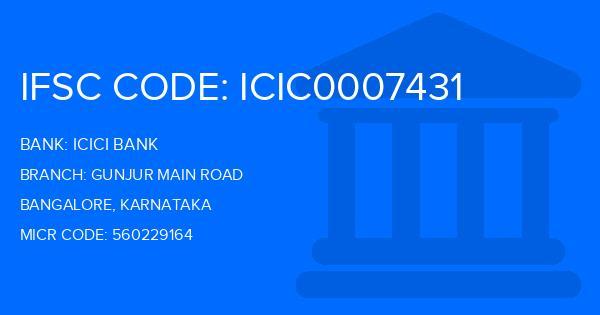 ifsc code icici bank hosur branch bangalore