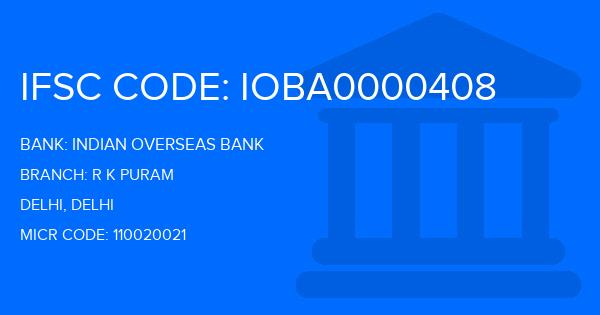 indian overseas bank new delhi branches