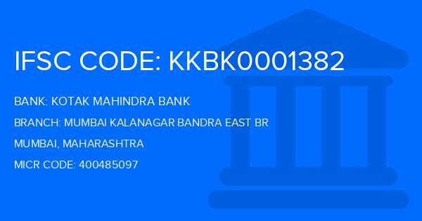 ifsc code kotak mahindra bank mumbai andheri east