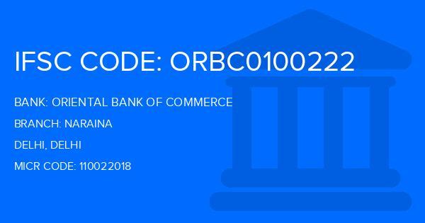 oriental bank of commerce delhi branches ifsc code