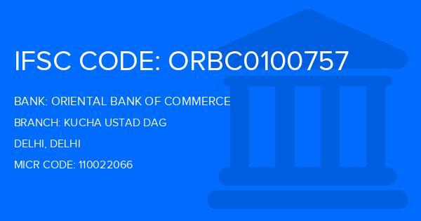 oriental bank of commerce gandhinagar delhi ifsc code