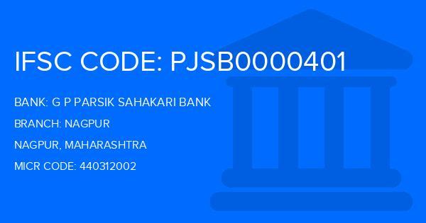 Gopinath Patil Parsik Janata Sahakari Bank Nagpur Branch IFSC Code