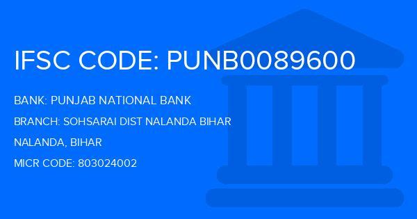 Punjab National Bank (PNB) Sohsarai Dist Nalanda Bihar