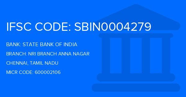 state bank of india nri branch anna salai chennai