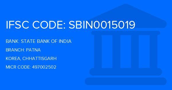bank of india patna branch code