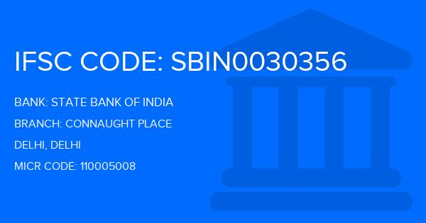 State Bank Of India (SBI) Connaught Place Branch IFSC Code