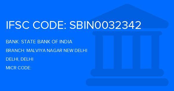 bank of india malviya nagar new delhi address