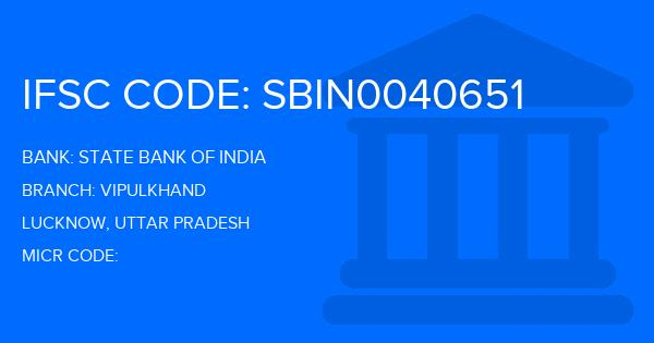 state bank of india branch code lucknow