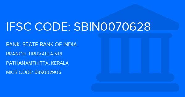 State Bank Of India (SBI) Tiruvalla Nri Branch