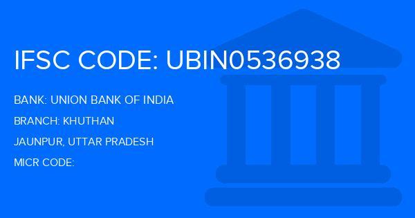 union bank of india ifsc code jaunpur