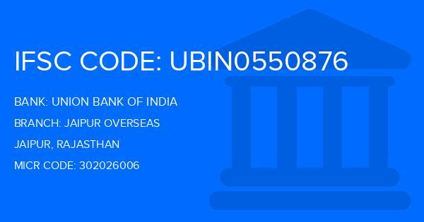 union bank of india jagatpura jaipur ifsc code