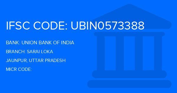 union bank of india jaunpur main branch ifsc code